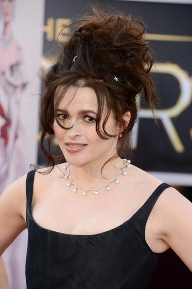 Los moños d Helena Bonham Carter deberían estar en un museo de los horrores